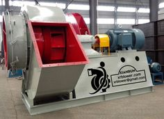 Six Large Centrifugal Fans Functions in Power Plant Boilers by Xianrun Blower, www.lxrfan.com, xrblower@gmail.com   4. Dilution Fan: This centrifugal fan is used for denitration unit, providing air to dilute ammonia in denitrification system.