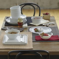 Mercer Dinnerware Cotton