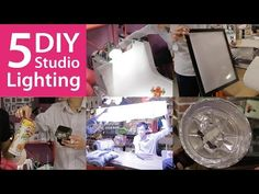 ▶ 5 DIY Lighting Setups You Can Try at Home - YouTube