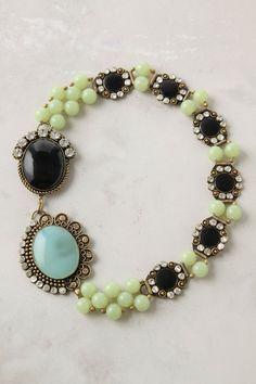 beadingjewelri idea, bracelet, anthro necklac, accessori, heirloom necklac, baubl, jewelri inspir, necklaces, antiqu inspir