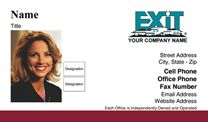 Exit Realty Business Card WP1006. Visit http://www.bestprintbuy.com/exit-realty/exit-realty-business-cards/exit-realty-business-cards-with-photo.htm
