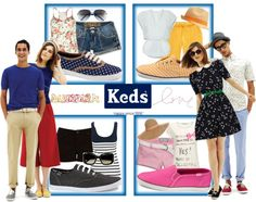 Ready. Set. Summer! with Keds, created by ahpay12 on Polyvore