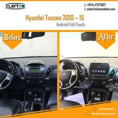 http://www.claytondubai.com/android-fta/hyundai-fta/ #hyundai #tucson #android #full #touch #before #and #after #navigation #gps #cargps #carnavi #dubai #clayton #car #uae #dvd #cardvd #dvds