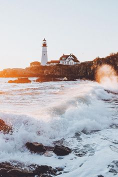 "banshy: ""Portland Head Light // Sam Alive """