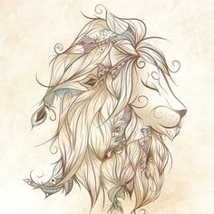 Would make a beautiful tattoo if your a leo...