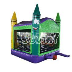 Crayon Bounce Castle