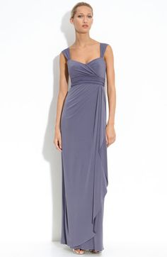 Amsale Ruched Jersey Dress available at #Nordstrom On Sale from $280 to $167 right now