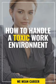 Are you working in a toxic environment? A toxic workplace occurs when the work, atmosphere, people, or any combination of these things, causes serious disruptions in your life. If you are suffering from your job environment and don't know how to handle the stress, read our tips and learn how to deal with it. #toxicworkenvironment #toxicworkenvironmentsigns #stressatwork #careeradvice #toxicworkenvironmenttips