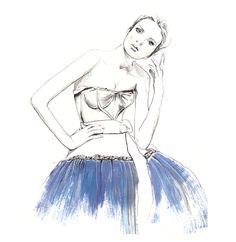 Sarah Hankinsson  Fashion illustration  http://studdedbysara.wordpress.com