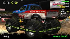 Racing Games For Kids - Monster Truck Racing in Racecourse - Video Games. Racing Games For Kids, Video Games For Kids, Monster Truck Racing, Monster Trucks, Race Cars, Drag Race Cars, Rally Car