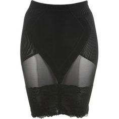 Black Control Skirt**
