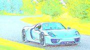 """New artwork for sale! - """" Porsche 918 Spyder  by PixBreak Art """" - http://ift.tt/2m4Spja"""