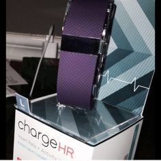Fitbit charge HR This is size large / purple and brand new without the box - can not ship out until May 24-2016 Fitbit Other