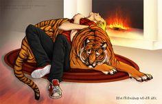 Calvin and Hobbes by ~Sashatiainen on deviantART