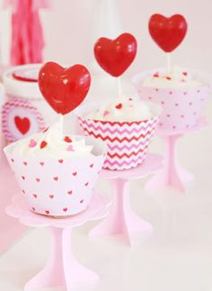 Mini Cupcake Pedestal Stands
