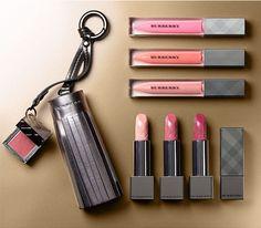 Burberry 'Lip Cover' Soft Satin Lipstick Set and Burberry 'Lip Glow' Natural Lip Gloss Set