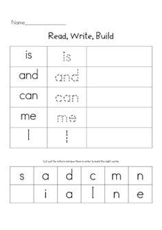 Read, write, build