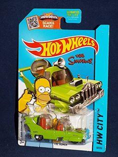 Hot Wheels 2015 The Simpsons Hw City - The Homer @ niftywarehouse.com