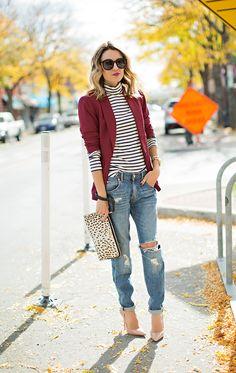 New Hello Fashion + Burgundy Love | Hello Fashion