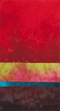 sailors delight, quilt. love the abstract landscape