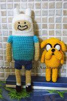 AnnAiraM Bijoux Amigurumi: FINN - Adventure Time