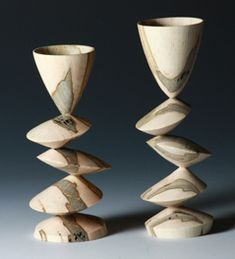 sculpted cups    Multi axis  Barbara dill