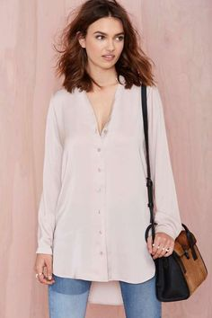 Silky Way Shirt - Shirts + Blouses
