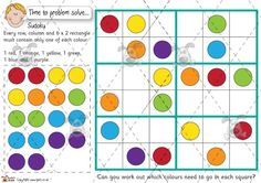 Teacher's Pet Activities & Games » Problem Solving - Sudoku (counters) » EYFS, KS1, KS2 classroom activity and game resources » A Sparklebox alternative
