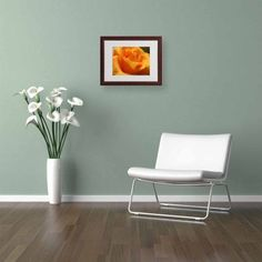 Trademark Fine Art Mother's Embrace Canvas Art by Monica Fleet, White Matte, Wood Frame, Size: 16 x 20