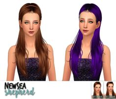 Newsea Shepherd, Wake Up & Within a dream hair retextures at Nessa Sims via Sims 4 Updates  Check more at http://sims4updates.net/hairstyles/newsea-shepherd-wake-up-within-a-dream-hair-retextures-at-nessa-sims/