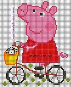 Peppa Pig Meus Gráficos De Ponto Cruz
