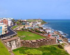 Old San Juan, what a beautiful place. I hope to go again in the next year or two...