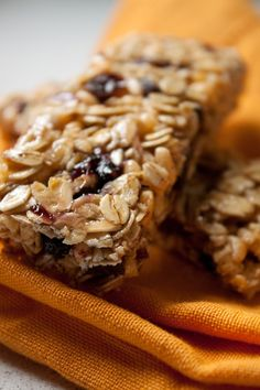 Chewy Cherry Almond Granola Bars from Can You Stay for Dinner. This site has many yummy sounding skinny recipes from a woman who lost 135 pounds and has kept it off for over 5 years. -CAB