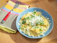 Slow-Cooker Golden Chicken Pasta recipe from The Kitchen via Food Network...serve with spaghetti squash in place of noodles and shouldn't be too bad in carbs for a treat now and then!!!