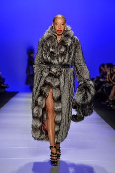 Farley Chatto Fall 2015 George Pimentel / Getty Images - model Stacey McKenzie