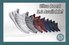 9ba5843c4ef7 adidas Ultra Boost 3.0 Now Available With Free Shipping! Yeezy