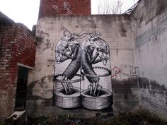 """""""Isolated Together"""" by Phlegm in Sheffield, UK."""
