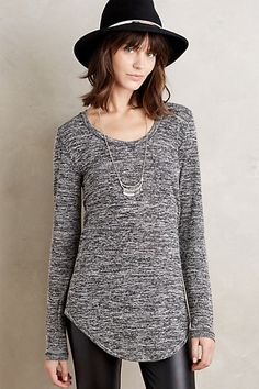 Slubbed Baseball Tee #anthropologie