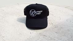 "Vintage Vdub ""Trucker"" Hat (Black)"