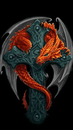 WALLPAPERS - Gothic, skulls, death, fantasy, erotic and animals: DRAGONS