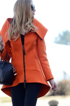 orange COVERS for LOVERS scuba coat!