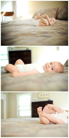 JellyBean Pictures | Westchester and NYC Children's Photography: family - Simple, no props, just light and a cute baby.