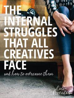 3 Internal Struggles that all Creatives Face | Callie Creates