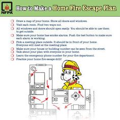 Fire escape planning tool create your home fire escape for How to make a home fire escape plan