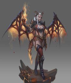 Demon, Tay Tho Dang Ngoc on ArtStation at https://www.artstation.com/artwork/demon-56c6c147-baee-4de4-bc35-08f6dd18329f