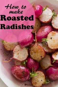 Give a unique twist to tasteless radish with this recipe. This low-carb side dish is definitely a winner to your family and friends. A roasted spring crop is definitely worth a try.