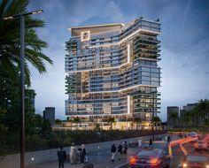 Office Building Architecture, Parametric Architecture, Hotel Architecture, Home Building Design, Building Facade, Concept Architecture, Futuristic Architecture, Residential Architecture, Architecture Design