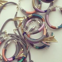 Sarah Armitage stunning range of necklaces and bracelets