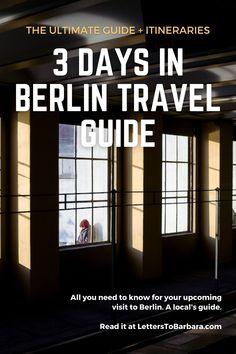 Berlin Travel, Travel Europe, Germany Travel, Travel Destinations, Travel Advice, Travel Guides, European Travel Tips, West Berlin, Travel Images