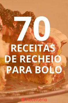 70 receitas de recheio para bolo, uma mais gostosa que a outra Pastel Cakes, Cake Fillings, Just Cakes, Diy Cake, Mini Cakes, Other Recipes, I Foods, Bakery, Sweet Treats